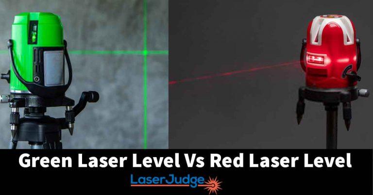 Green vs Red Laser Level