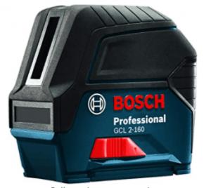 Bosch GCL 2-160 65 Ft. Self-Leveling Cross-Line Laser Level