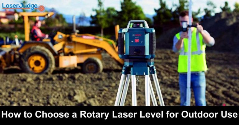 How to Choose a Rotary Laser Level for Outdoor Use