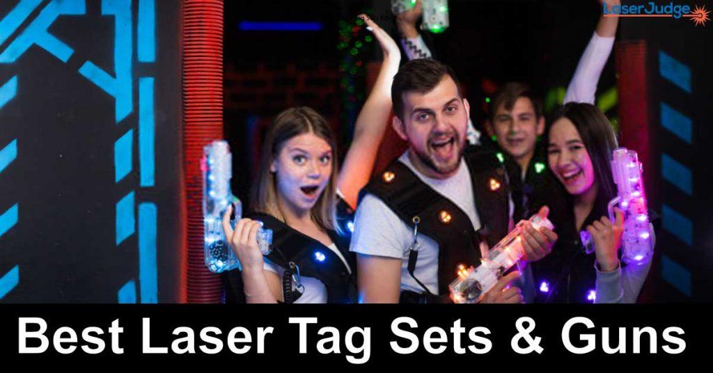 Best Laser Tag Sets & Guns