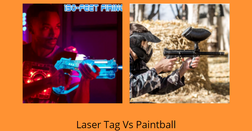 Laser Tag Vs Paintball